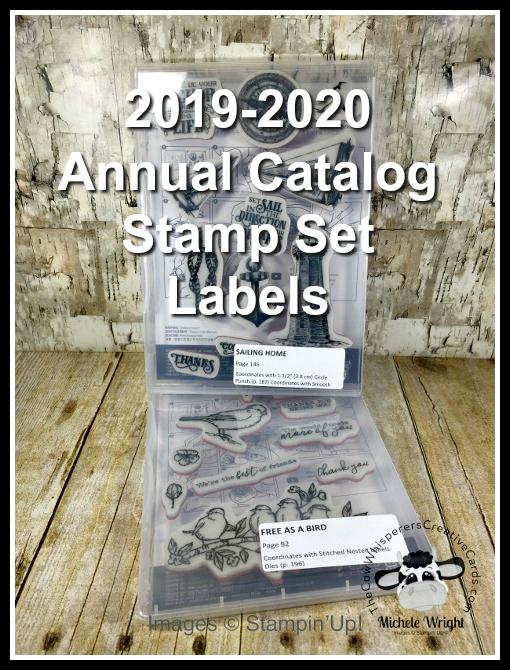 Free, Label, Stamp Sets, Stampin Up