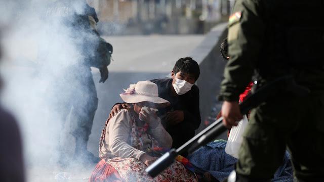 CIDH condena uso desproporcionado de la fuerza policial y militar en Bolivia