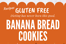 Banana Bread Cookies Gluten free & vegan #glutenfree