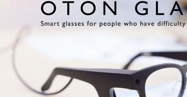 Oton Glass, gafas inteligentes que convierten el texto en voz