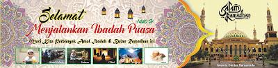 Spanduk Puasa Ramadhan 1440 H