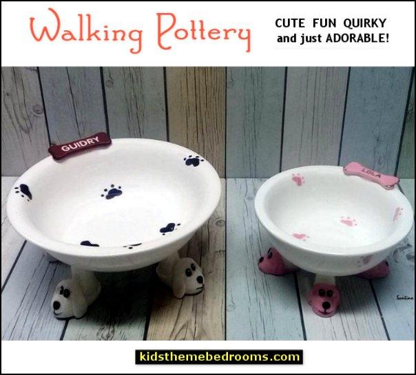 Elevated Dog Bowls puppy feet bowls dog feet bowls fun bowls pet gifts
