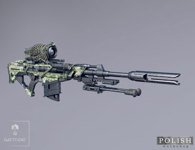 MKS Tactical Sniper Rifle and Poses