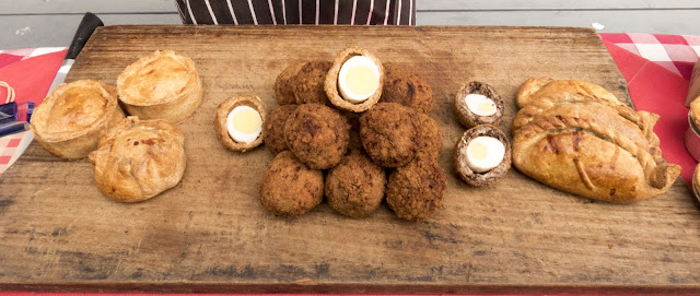What to eat in West Cork Ireland: Scotch eggs and pies from West Cork Pies