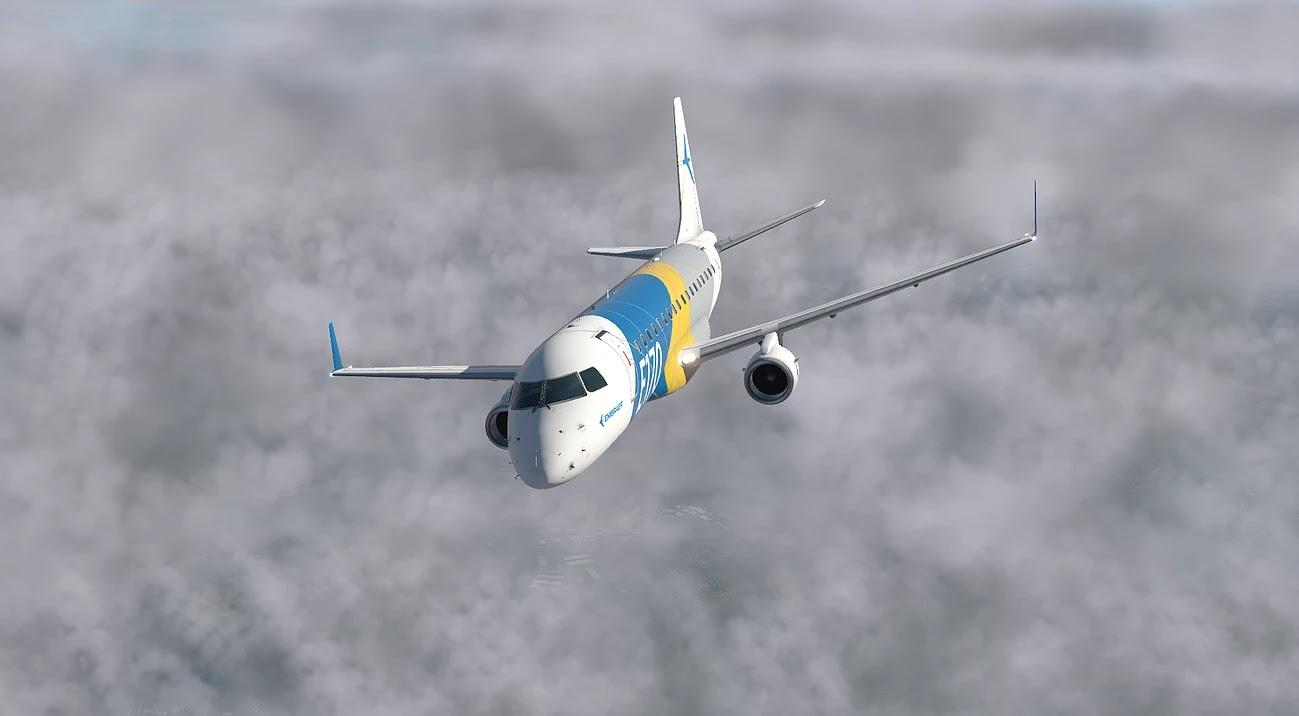 XP11] - SSG, E-Jets 170 Evolution 1 0 6 ~ Xplane Paraguay