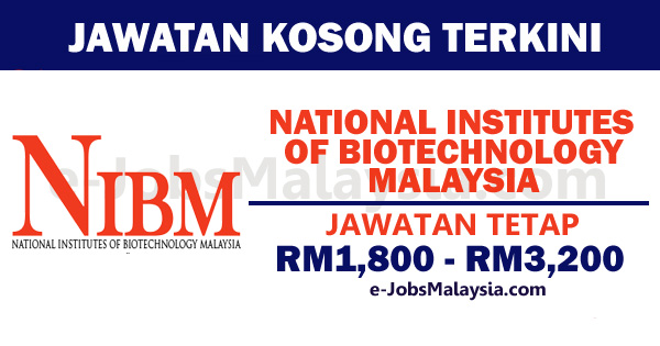 National Institutes of Biotechnology Malaysia