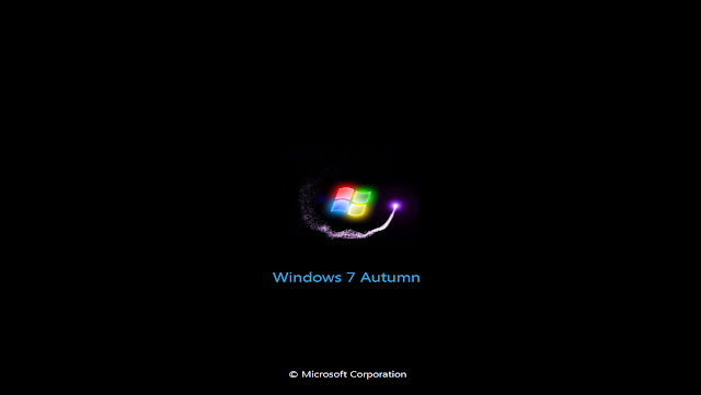 Ghost Windows 7 Lite Autumn (32Bit + 64Bit) Chuẩn MBR & UEFI
