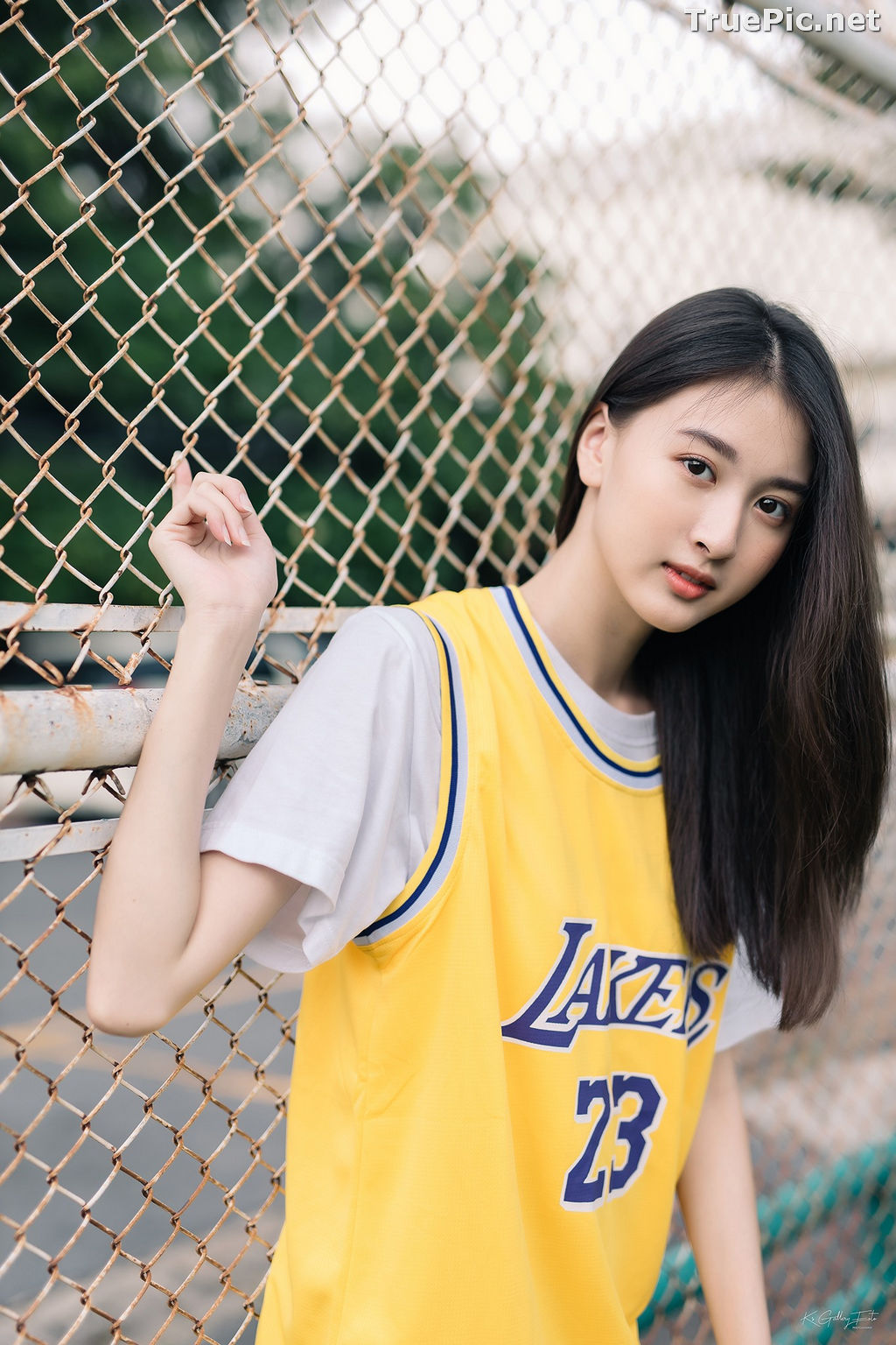 Image Thailand Beautiful Girl - View Benyapa - Long Hair Sport Girl - TruePic.net - Picture-5