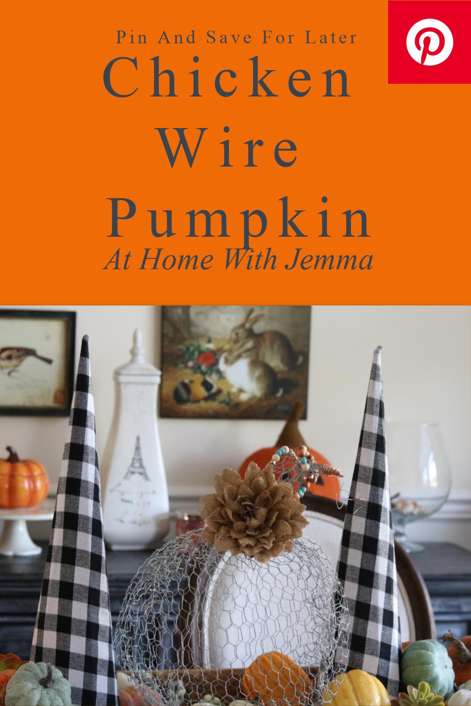 chicken-wire-pumpkin-craft-fall-halloween-thanksgiving-athomewithjemma