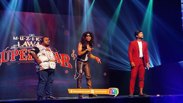 Muzikal Lawak Superstar Minggu 5 Full