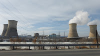 The Three Mile Island nuclear power plant in Middletown, Pa. (Credit: Z22) Click to Enlarge.