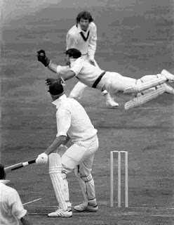 First ever World Cup Semi-final Match in Cricket History - Tony Greig caught out
