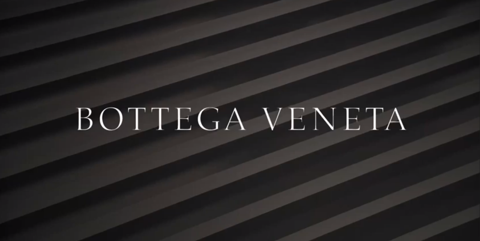 Bottega Veneta's Early Fall 2014 Video