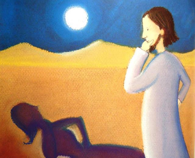 les tentations de jésus au désert