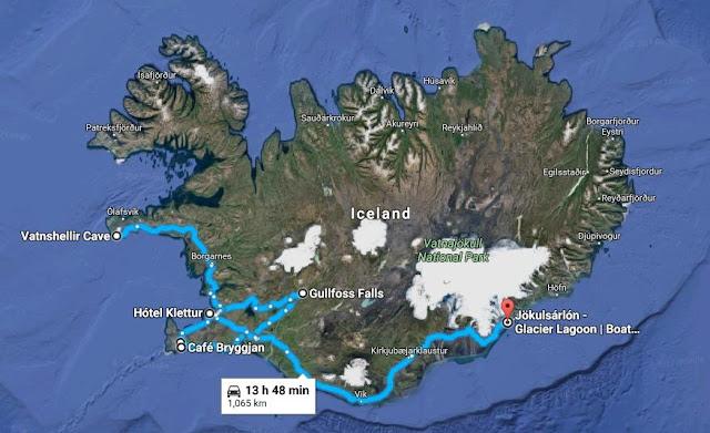 アイスランドを5日間で1700キロ運転