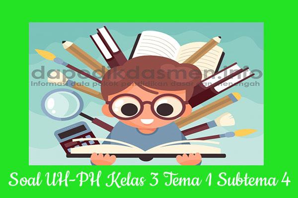 Soal UH PH Kelas 3 Tema 1 Subtema 4 Kurikulum 2013, Soal PH / UH Kelas 3 Tema 1 Subtema 4 Kurikulum 2013 Revisi Terbaru, Soal Tematik Kelas 3 Tema 1 K13 Subtema 4, Soal Ulangan Harian ( UH ) Kelas 3 Semester 1, Soal Penilaian Harian ( PH ) Kelas 3 Tema 1 Subtema 4