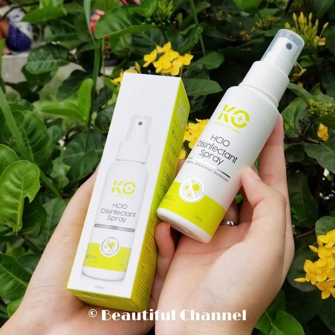 Review: Disinfectant Spray Terbaik Dari KO Virus HClO