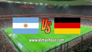 مشاهدة مباراة الأرجنتين والمانيا بث مباشر اليوم الأربعاء 9-10-2019