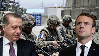 Γαλλικός στρατός κατά των Τούρκων στη Συρία