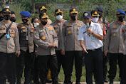 Kapolda Banten Dampingi Kabaharkam Polri Gladi Bersih Panen Raya dan Launching Kampung Tangguh Nusantara
