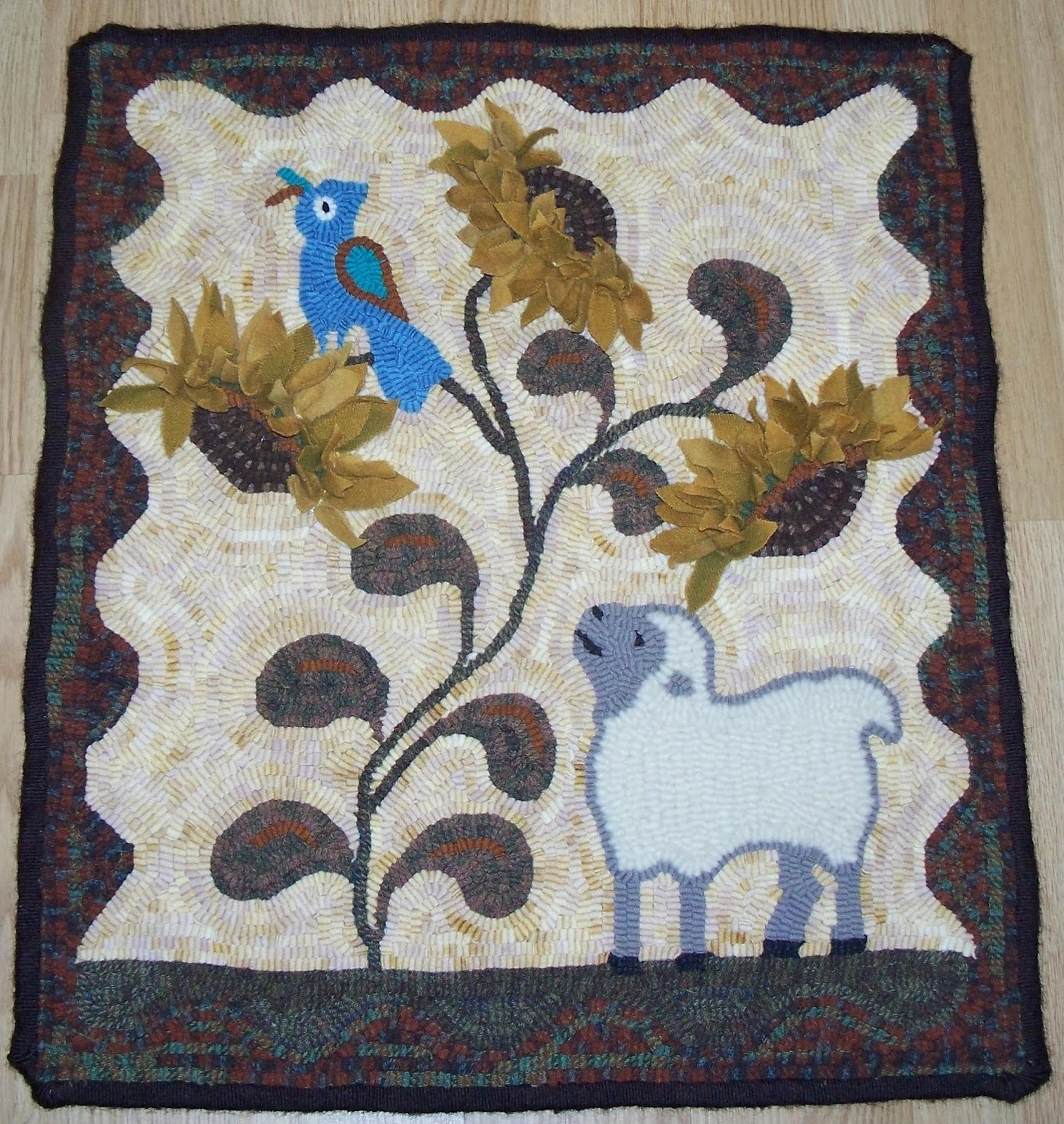 Kris Miller From Spruce Ridge Studios Rug Of The Day