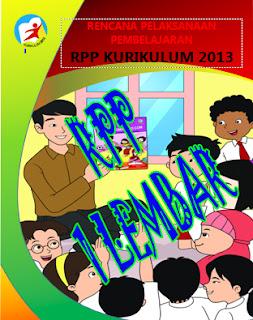 RPP 1 LEMBAR UNTUK TINKATAN SD/MI