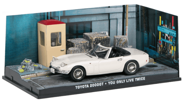 Toyota 200 GT - You only live twice 1:43 colección james bond