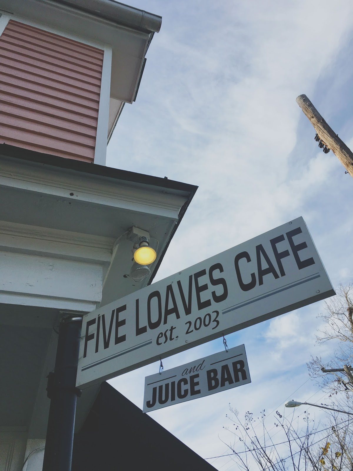 Five Loaves - a restaurant in Charleston, South Carolina
