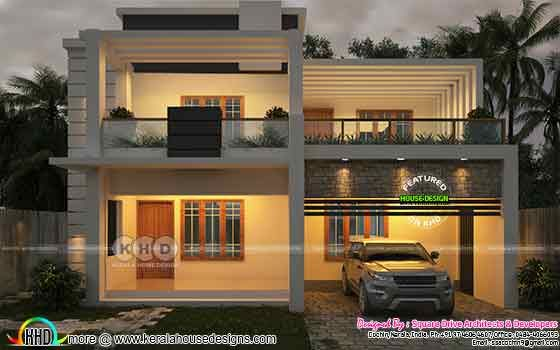 Modern home 2800 square feet