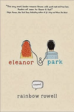 Eleanor & Park Book Cover - Winner - Illinois High School Book Award 2015
