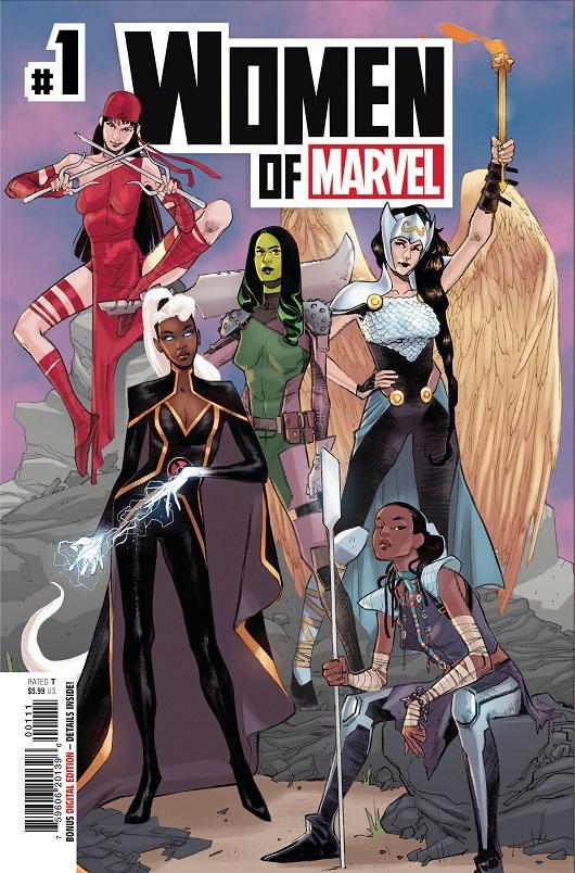 Cover of Women of Marvel #1