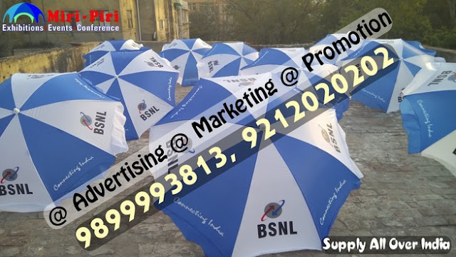 BSNL Marketingm Promotional & Advertising Umbrellas Manufacturers in New Delhi, India