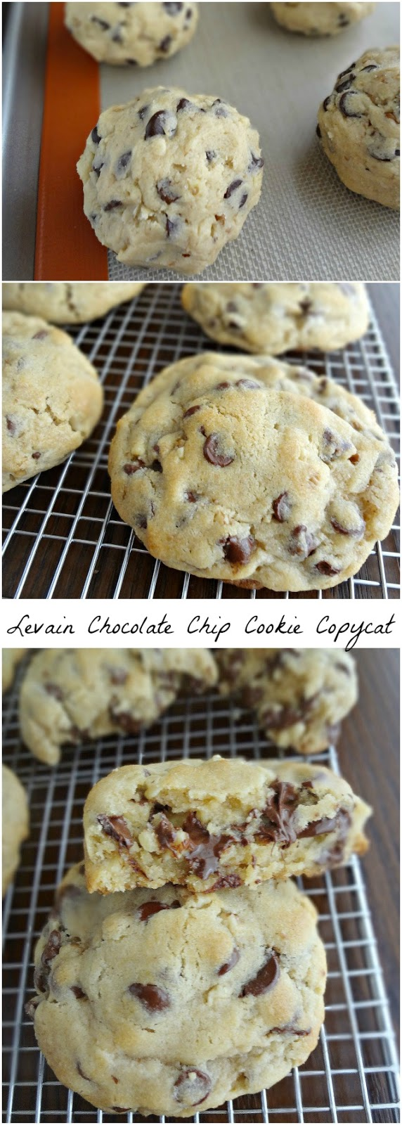 THE Levain Chocolate Chip Cookie Copycat Recipe