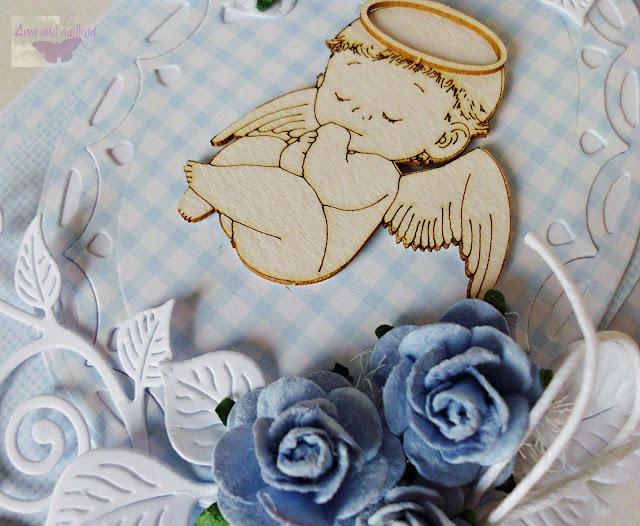 tekturka z beermaty -aniołek