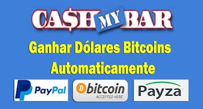 Mycashbar ganhe dinheiro com seu PC ligado.