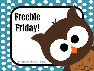 Please Visit My Freebie Friday Pinterest Board For More Freebies!