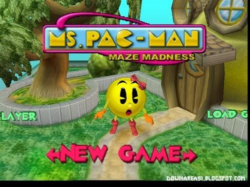 Ms Pacman Maze Madness N64 roms