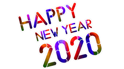 PNG Happy new year 2020 PNG images free download