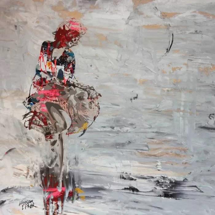 Египетский художник. Hossam Dirar