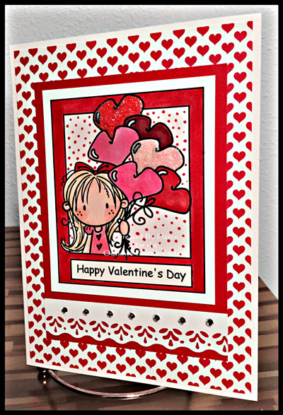 Happy Valentine's Day at Outlawz Festive Fridays Challenge