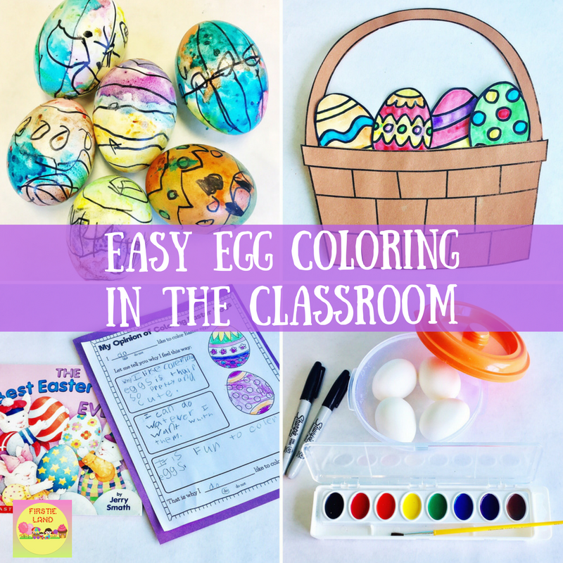 Its Creative Fun And A Great Way To Spark Some Persuasive Writing I Start By Reading Cute Book Thats All About Coloring Eggs The Best Easter