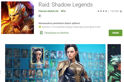 Raid: Shadow Legends Game RPG terbaru