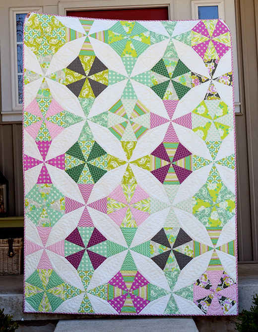 Cindy's Kaleidoscope Quilt Free Tutorial