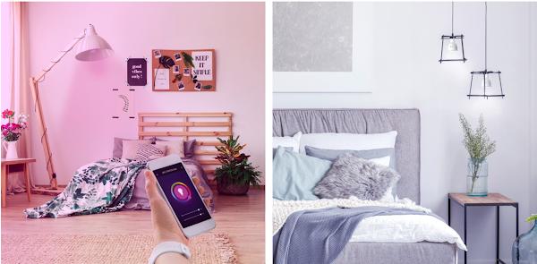 SPC mostra como as lâmpadas inteligentes ajudam a criar um ambiente mais romântico