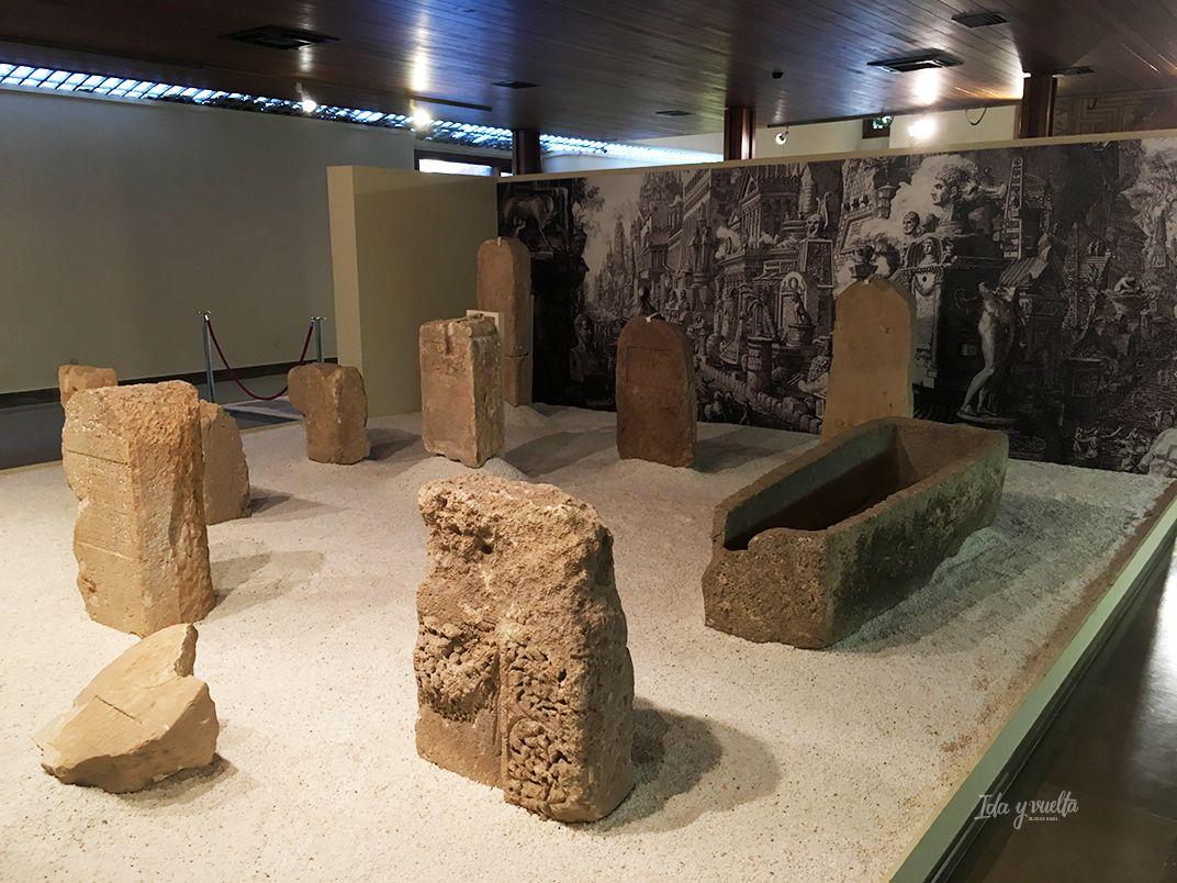 Museo Albacete enterramientos romanos