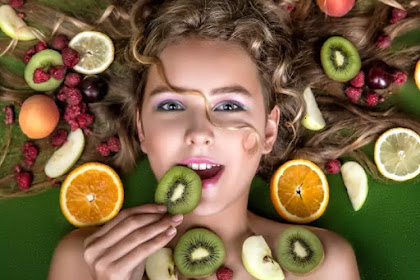 7 Types of Healthy Fruit for facial Skin Beauty