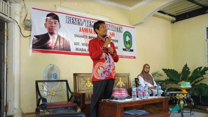Kawal Aspirasi Warga, Legislator Gerindra Ini Turun Gunung