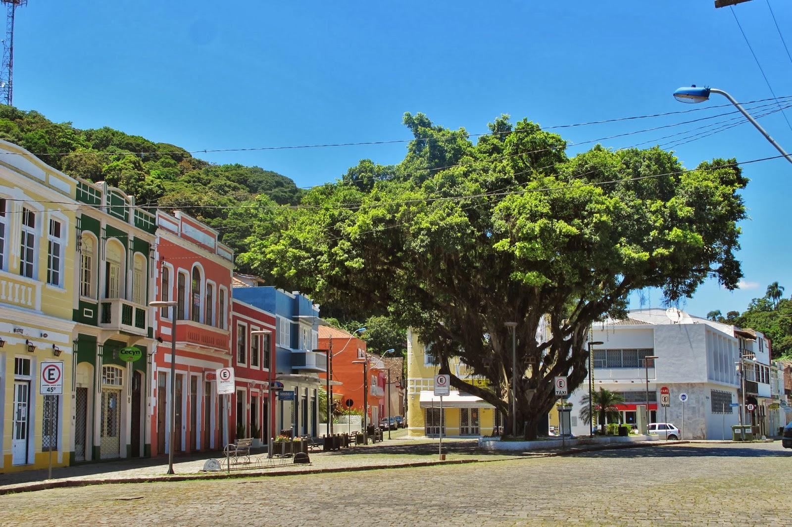 São Francisco do Sul, no litoral de Santa Catarina.