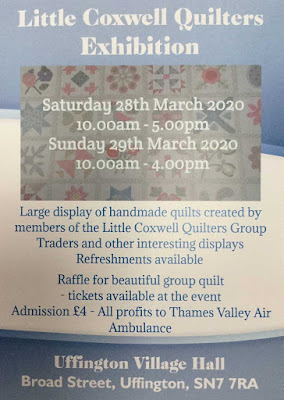 Little Coxwell Quilters 2020 Exhibition