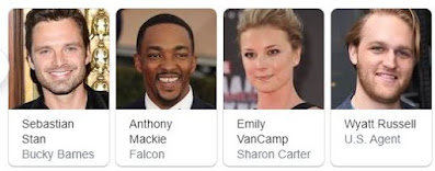 The Falcon and winter Soldier cast